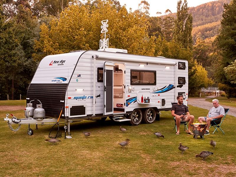 New Age MR20BC family caravan