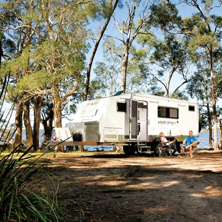 Innovations in the RV industry are allowing Aussie travellers to head offroad and linger longer. Her