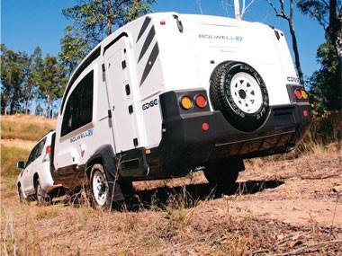 We review the Bolwell RV Edge fibreglass caravan.