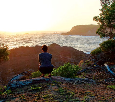 Bittangabee Bay sunrise