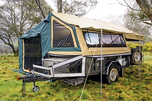 The All Terrain Tourer weighs 850kg and its agile dimensions are noticeable as you manoeuvre it at t