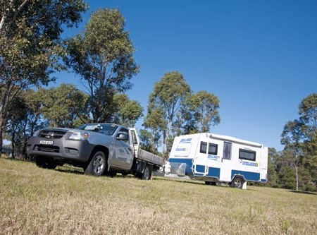 The Millard Overlander Caravan may be compact but it is able to handle pretty rough road conditions