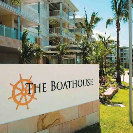 The Boathouse Marina in Western Australia.