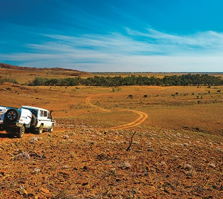 When you're travelling the outback, one thing's for sure – things don't always go to plan