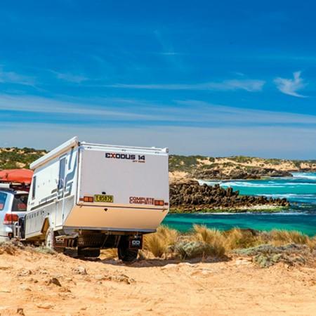 Best camper trailers: Hybrid