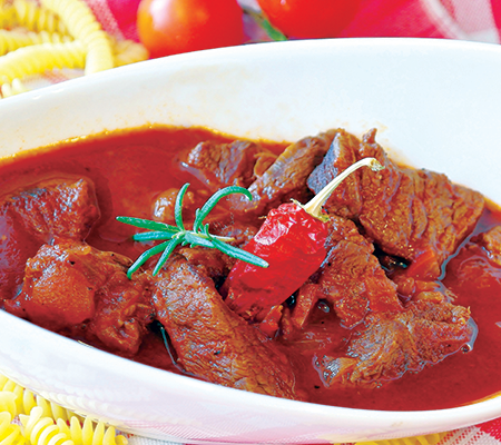 Wild swine vindaloo