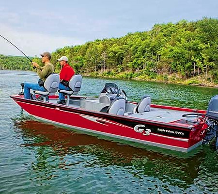 G3 boats is one of the largest bass boat manufacturers in the states. American bass boats like the E