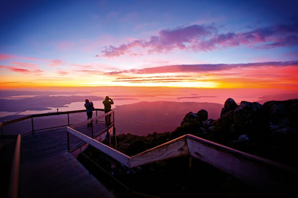 Mount Wellington sunrise