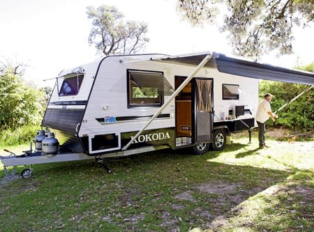The Kokoda Aussie Pride. A well-stocked blacktop tourer.