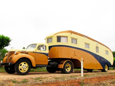 From the road: 1940s fifth wheeler