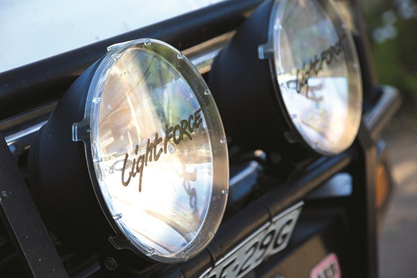 Fit-out your rig with HID spotlights