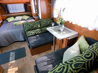 Paramount Caravans Classic lounge