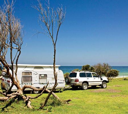 Blue Sky caravan