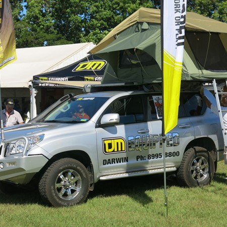 4WDs will be out in full force at the 2014 Darwin 4WS, Caravan & Outback Camping Expo.