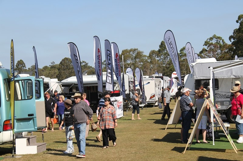 The 2014 Wide Bay and Fraser Coast Home Show and Caravan Camping 4x4 and Fishing Expo. It brings tog