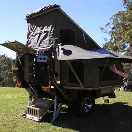 The Conqueror Australia UEV 440 Evolution camper.