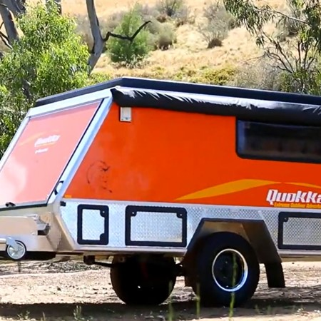Quokka toy hauler from MacroPod campers