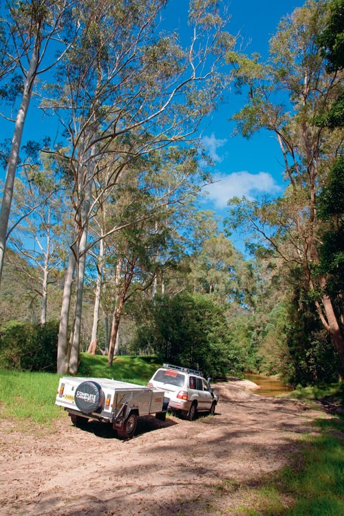 Complete Campsite Byron offroad camper.