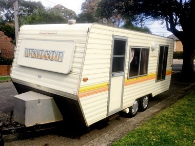 On the road for under $10k: Caravan purchased!
