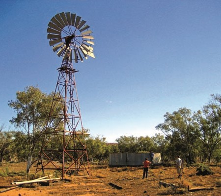 Explore the remains of a shattered dream of easy wealth on the edge of the outback.