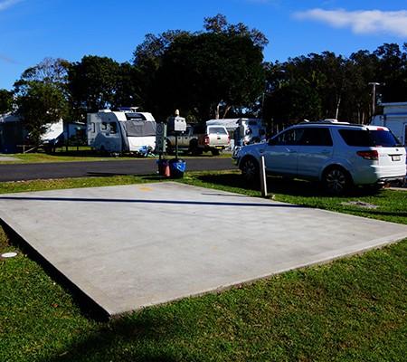 Upgrades at the Jacaranda Caravan Park in North Haven, NSW.