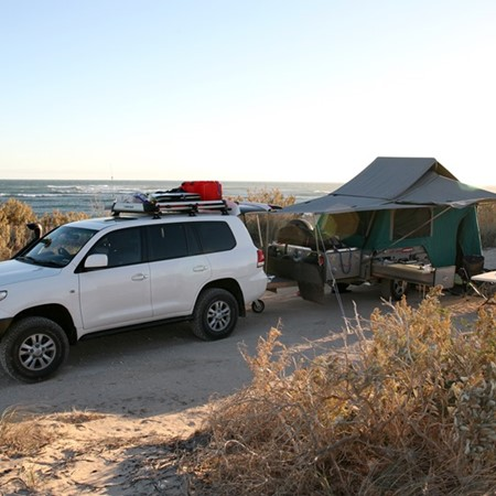 Peaceful camping along the Ningaloo coast could become a thing of the past.