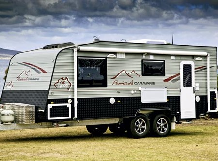 The Peninsula Oz Trekka. It's made in Victoria but it's sold in Port Lincoln and Renmark, in neighbo
