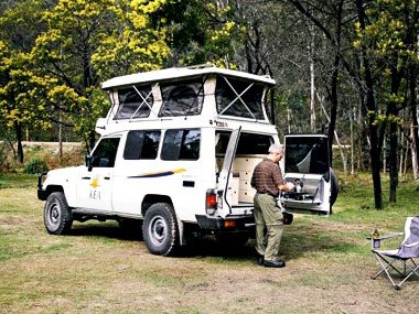 Kea Campers Toyota LandCruiser Pop-Top