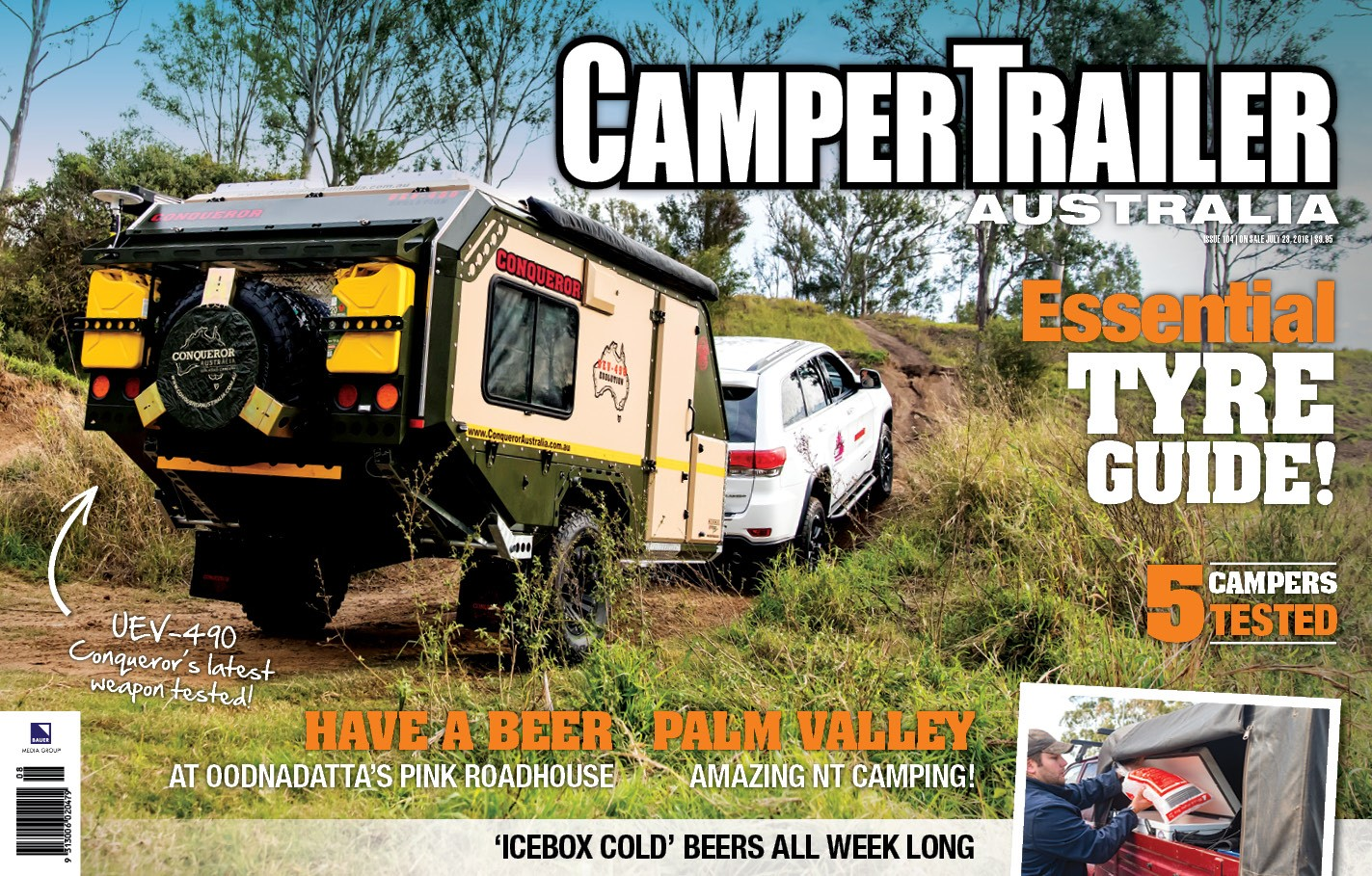 Camper Trailer Australia July 2016 edition with bonus LowRange DVD