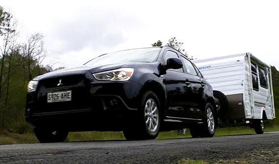 Tow test: Mitsubishi ASX tow test