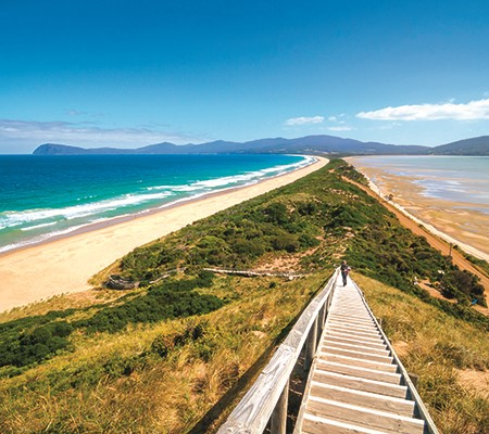 Top beach camps of Tasmania