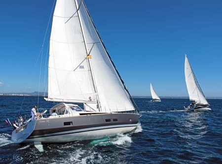 The Beneteau Oceanis 55: style, versatility and function rolled into one.