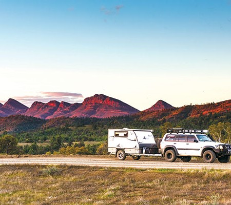 Travelling with smaller and lighter caravans