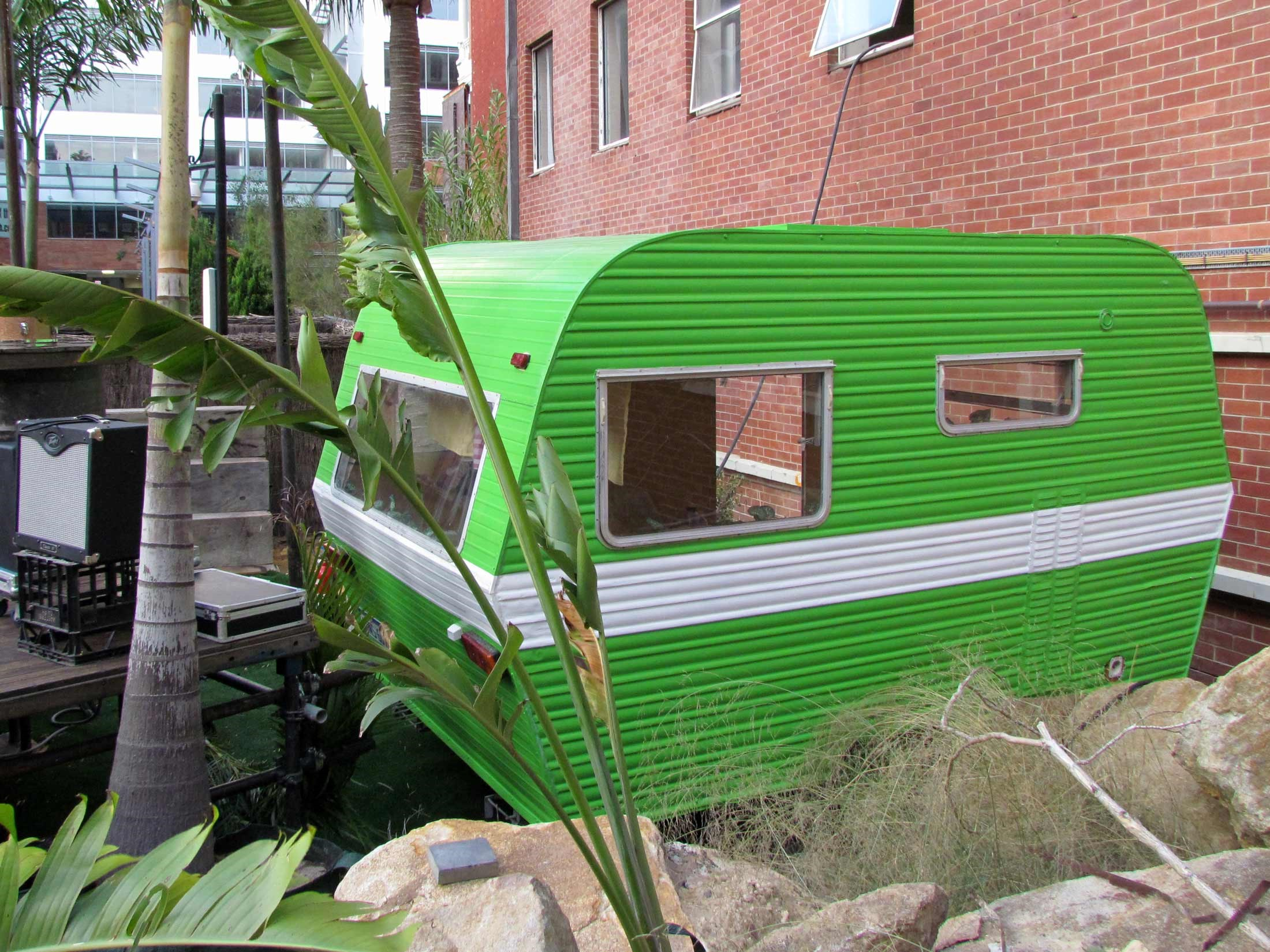 BLOG: 101 USES FOR AN OLD CARAVAN
