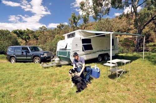 May West Cumberland caravan