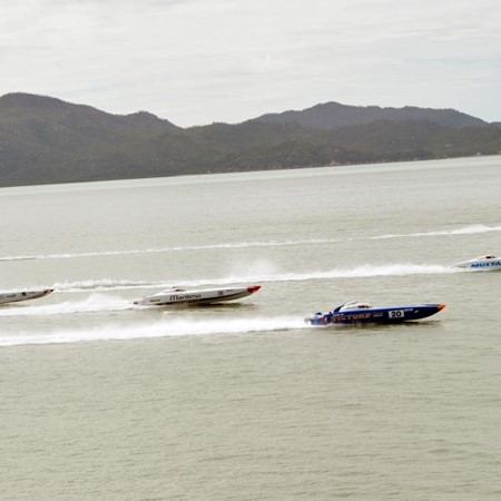 SPORT —  Superboats continue battle in Townsville