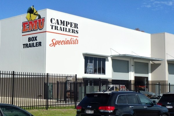 Customers will be able to see production finalised on Emu camper trailers at the new Coombabah premi