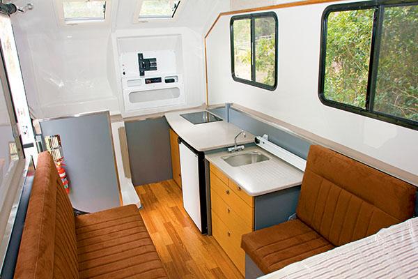 Kimberley Karavanoffroad caravan classic 4916