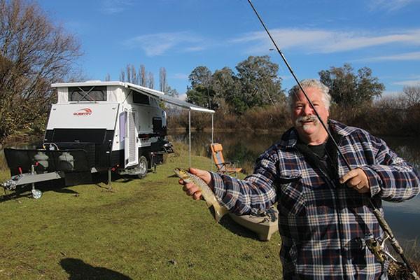 John 'Bear' Willis fishing