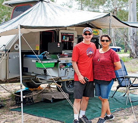 Jason and Janice Edwards love their Echo 4x4.