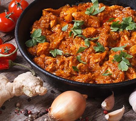 Potato & Mushroom Curry