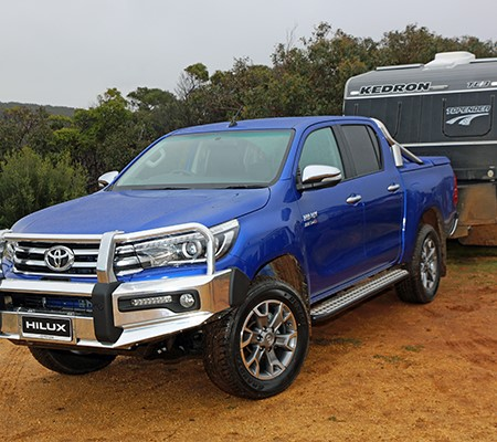 Kedron was one of the first RV manufacturers to test the new HiLux.