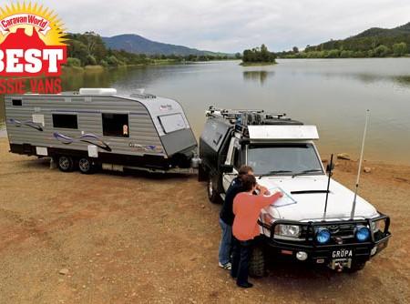 New Age Oz classic caravan