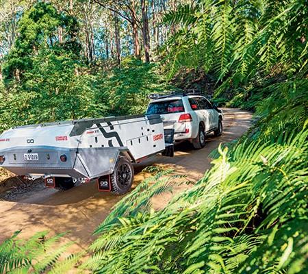 Camper trailer brakes