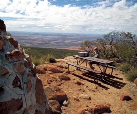 The Mount Augustus climb