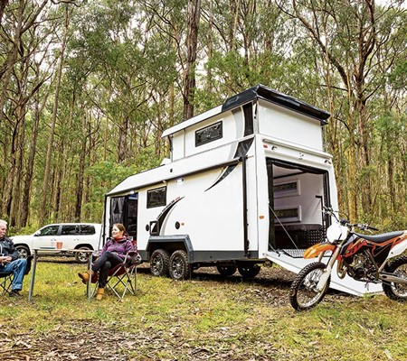 Caria Caravans Toy Hauler GT-8