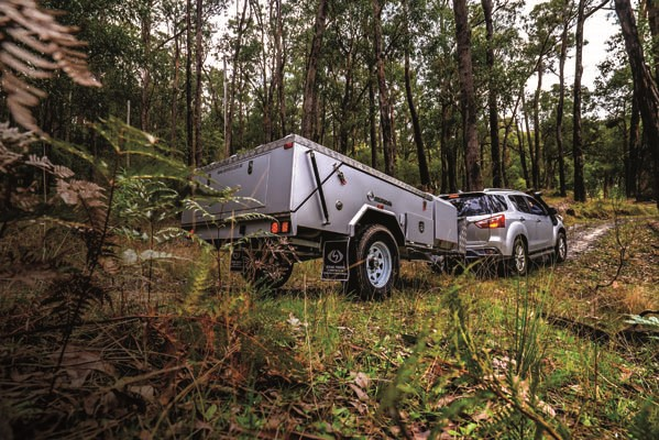 Welcome a wombat of a camper trailer: cute, capable and tough as a bulldozing ruck rover at the cent