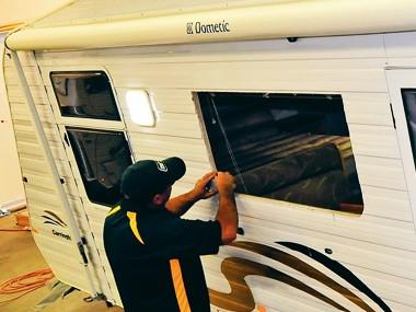 Tech: Resealing van windows