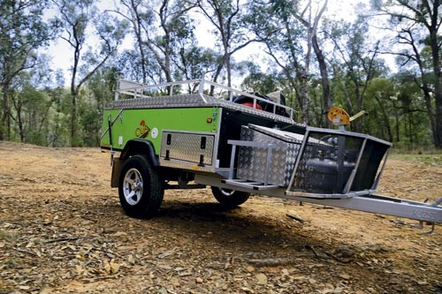 The Cub Campers Kamparoo Daintree LE is a cleverly designed hardfloor camper.