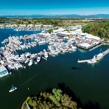 Exhibitor bookings for the 2016 Sanctuary Cove boat show are already up by 20 per cent over last yea